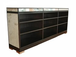 mirror shelving units