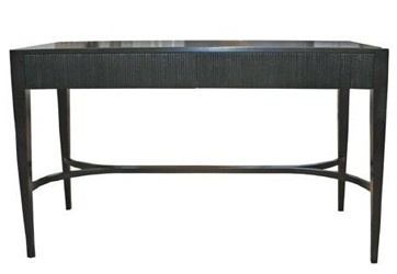 timber console tables