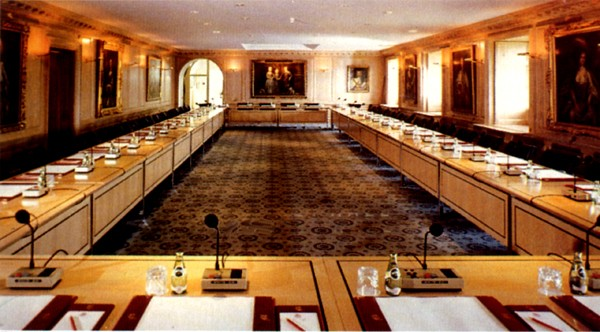 Brocket Hall Conference Table