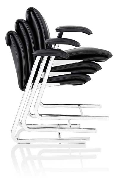 Delphi stacking chair