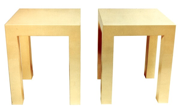 Parsons side tables