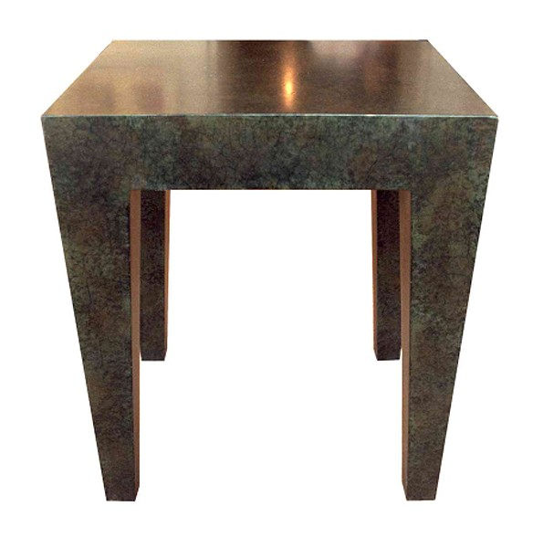 Tapered lamp table