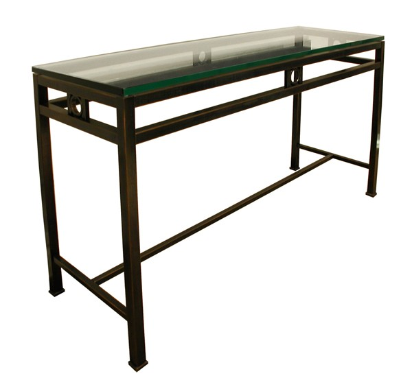 Metal console tables carew jones Metal console table