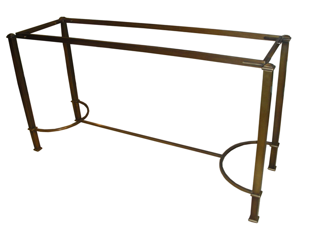 New design console table
