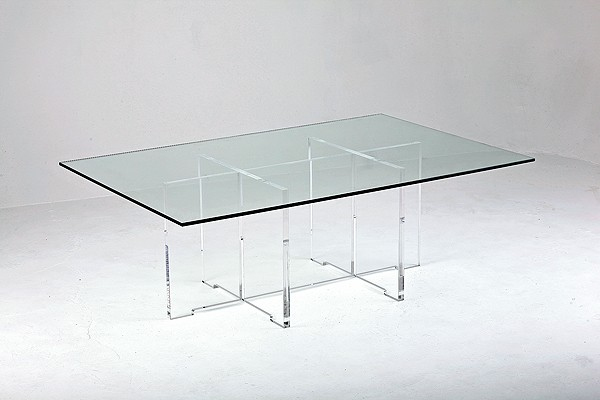 Cruciform coffee table