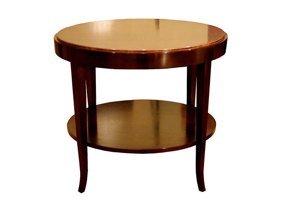 Harworth round side table